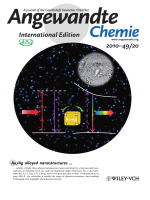 Inside Cover  Bright Three-Photon Luminescence from GoldSilver Alloyed Nanostructures for Bioimaging with Negligible Photothermal Toxicity (Angew. Chem. Int. Ed. 202010)