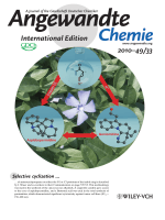 Inside Cover  Catalytic Selective Cyclizations of Aminocyclopropanes  Formal Synthesis of Aspidospermidine and Total Synthesis of Goniomitine (Angew. Chem. Int. Ed. 332010)