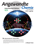Inside Cover  Chiral Nanoscale MetalЦOrganic Tetrahedral Cages  Diastereoselective Self-Assembly and Enantioselective Separation (Angew. Chem. Int. Ed. 242010)