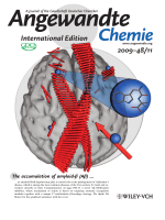 Inside Cover  Cognitive-Performance Recovery of Alzheimer's Disease Model Mice by Modulation of Early Soluble Amyloidal Assemblies (Angew. Chem. Int. Ed. 112009)