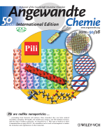 Inside Cover  Controlled Self-Assembly of Rodlike Bacterial Pili Particles into Ordered Lattices (Angew. Chem. Int. Ed. 282011)