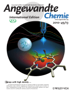 Inside Cover  Direct Access to Isolated Biomolecules under Ambient Conditions (Angew. Chem. Int. Ed. 132010)