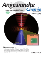 Inside Cover  Direct Light-Driven Modulation of Luminescence from Mn-Doped ZnSe Quantum Dots (Angew. Chem. Int. Ed. 142008)