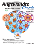 Inside Cover  Direct Observation of Contact Ion-Pair Formation in Aqueous Solution (Angew. Chem. Int. Ed. 332009)