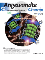 Inside Cover  Electron Transport through Single Molecules Comprising Aromatic Stacks Enclosed in Self-Assembled Cages (Angew. Chem. Int. Ed. 252011)