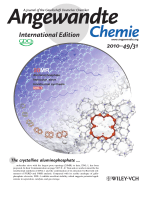 Inside Cover  Ionothermal Synthesis of an Aluminophosphate Molecular Sieve with 20-Ring Pore Openings (Angew. Chem. Int. Ed. 312010)