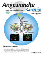 Inside Cover  Iridium Complex with Antiangiogenic Properties (Angew. Chem. Int. Ed. 222010)