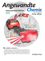 Inside Cover  Label-Free Chemical Imaging of Catalytic Solids by Coherent Anti-Stokes Raman Scattering and Synchrotron-Based Infrared Microscopy (Angew. Chem. Int. Ed. 472009)