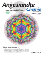 Inside Cover  Liquid-Crystal Engineering with Anchor-Shaped Molecules  Honeycombs with Hexagonal and Trigonal Symmetries Formed by Polyphilic Bent-Core Molecules (Angew. Chem. Int. Ed. 322008)