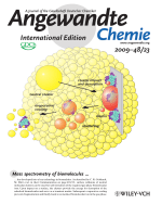 Inside Cover  Matrix-Free Formation of Gas-Phase Biomolecular Ions by Soft Cluster-Induced Desorption (Angew. Chem. Int. Ed. 232009)