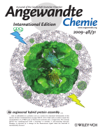 Inside Cover  Mechanical Nanosensor Based on FRET within a Thermosome  Damage-Reporting Polymeric Materials (Angew. Chem. Int. Ed. 312009)