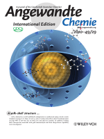 Inside Cover  Monodisperse YolkЦShell Nanoparticles with a Hierarchical Porous Structure for Delivery Vehicles and Nanoreactors (Angew. Chem. Int. Ed. 292010)