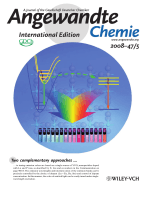 Inside Cover  Multicolor Tuning of (Ln  P)-Doped YVO4 Nanoparticles by Single-Wavelength Excitation (Angew. Chem. Int. Ed