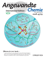 Inside Cover  Multiple Functions of Ionic Liquids in the Synthesis of Three-Dimensional Low-Connectivity Homochiral and Achiral Frameworks (Angew. Chem. Int. Ed. 292008)