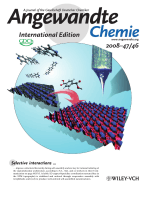 Inside Cover  Ordering and Stabilization of MetalЦOrganic Coordination Chains by Hierarchical Assembly through Hydrogen Bonding at a Surface (Angew. Chem. Int. Ed. 462008)