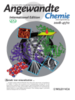 Inside Cover  Periodic Iron Nanomineralization in Human Serum Transferrin Fibrils (Angew. Chem. Int. Ed. 122008)