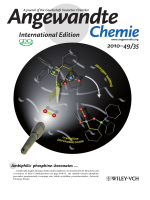 Inside Cover  Reaction of Singlet Dioxygen with PhosphineЦBorane Derivatives  From Transient Phosphine Peroxides to Crystalline Peroxoboronates (Angew. Chem. Int. Ed. 352010)