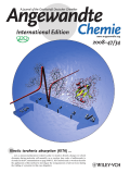 Inside Cover  Real-Time Detection of ProteinЦWater Dynamics upon Protein Folding by Terahertz Absorption Spectroscopy (Angew. Chem. Int. Ed. 342008)