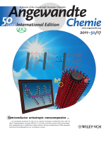 Inside Cover  Semiconductor Anisotropic Nanocomposites Obtained by Directly Coupling Conjugated Polymers with Quantum Rods (Angew. Chem. Int. Ed. 172011)