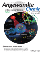 Inside Cover  Sensitive Detection of Native Proteins Using Extractive Electrospray Ionization Mass Spectrometry (Angew. Chem. Int. Ed. 172010)