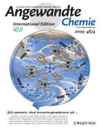Inside Cover  Site-Directed Asymmetric Quaternization of a Peptide Backbone at a C-Terminal Azlactone (Angew. Chem. Int. Ed. 42009)