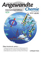 Inside Cover  Solid-State 17ONMR Spectroscopy of Large ProteinЦLigand Complexes (Angew. Chem. Int. Ed. 452010)