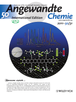 Inside Cover  Synthesis and Structural Characterization of Crystalline Nonacenes (Angew. Chem. Int. Ed. 312011)
