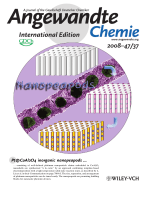 Inside Cover  Tailor-Made Inorganic Nanopeapods  Structural Design of Linear Noble Metal Nanoparticle Chains (Angew. Chem. Int. Ed. 372008)