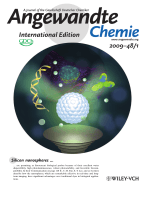 Inside Cover  Ultrastable  Highly Fluorescent  and Water-Dispersed Silicon-Based Nanospheres as Cellular Probes (Angew. Chem. Int. Ed