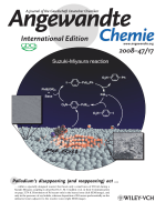 Inside Cover  Visual Observation of Redistribution and Dissolution of Palladium during the SuzukiЦMiyaura Reaction (Angew. Chem. Int. Ed. 172008)