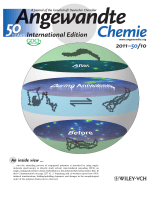 Inside Cover  Watching the Annealing Process One Polymer Chain at a Time (Angew. Chem. Int. Ed. 102011)