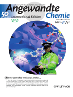 Inside Cover  X-ray Photolysis To Release Ligands from Caged Reagents by an Intramolecular Antenna Sensitive to Magnetic Resonance Imaging (Angew. Chem. Int. Ed. 412011)