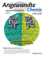 Inside Cover  УConformationalФ Solvatochromism  Spatial Discrimination of Nonpolar Solvents by Using a Supramolecular Box of a -Conjugated Zinc Bisporphyrin Rotamer (Angew. Chem. Int. Ed. 282008)