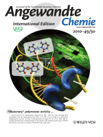 Inside Cover  УIllusionaryФ Polymerase Activity Triggered by Metal Ions  Use for Molecular Logic-Gate Operations (Angew. Chem. Int. Ed. 502010)