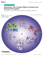 Interactions with Aromatic Rings in Chemical and Biological Recognition.