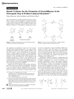 Kinetic Evidence for the Formation of Oxazolidinones in the Stereogenic Step of Proline-Catalyzed Reactions.