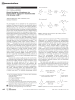 Kinetic Resolution of Oxazinones  An Organocatalytic Approach to Enantiomerically Pure -Amino Acids.