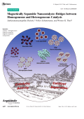 Magnetically Separable Nanocatalysts  Bridges between Homogeneous and Heterogeneous Catalysis.