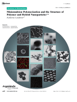 Miniemulsion Polymerization and the Structure of Polymer and Hybrid Nanoparticles.