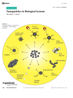 Nanoparticles in Biological Systems.