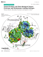 Natural Products and Their Biological Targets  Proteomic and Metabolomic Labeling Strategies.