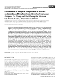 Occurrence of butyltin compounds in marine sediments and bivalves from three harbour areas (Saigon  Da Nang and Hai Phong) in Vietnam.