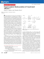 Organocatalytic Hydroacylation of Unactivated Alkenes.