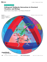 Orthogonal Multipolar Interactions in Structural Chemistry and Biology.