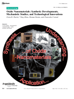 Oxide Nanomaterials  Synthetic Developments  Mechanistic Studies  and Technological Innovations.