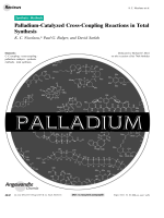Palladium-Catalyzed Cross-Coupling Reactions in Total Synthesis.