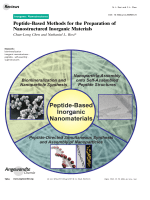 Peptide-Based Methods for the Preparation of Nanostructured Inorganic Materials.