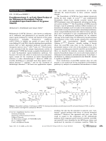 Premithramycinone G  an Early Shunt Product of the Mithramycin Biosynthetic Pathway Accumulated upon Inactivation of Oxygenase MtmOII.