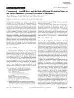 Pronounced Ligand Effects and the Role of Formal Oxidation States in the Nickel-Mediated Thermal Activation of Methane.
