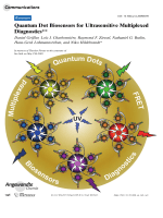 Quantum Dot Biosensors for Ultrasensitive Multiplexed Diagnostics.